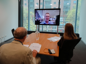 First Video Conference Mediation at the VSBC