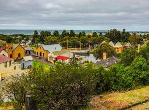 The South West coast of Victoria. Warrnambool. Australian Pacific coast.